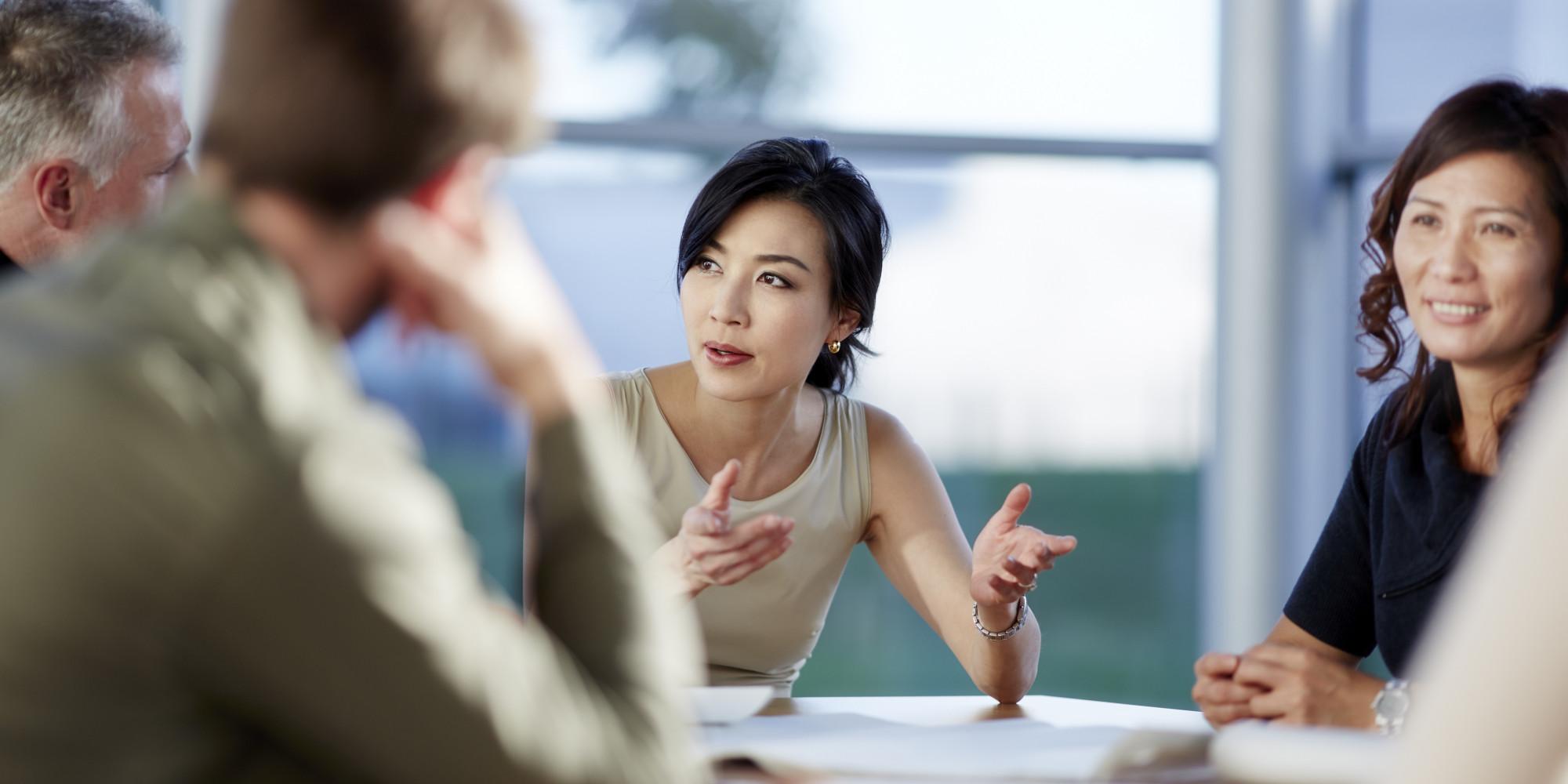 English Speaking Asian Women Around 61