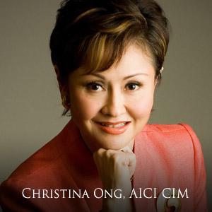 Christina Ong, AICI CIM