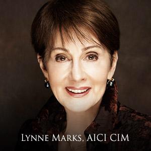 Lynne Marks, AICI CIM